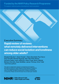 Cover of Systematic Review